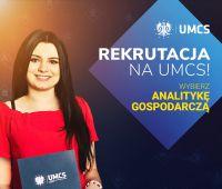 Studiuj Analitykę gospodarczą na UMCS