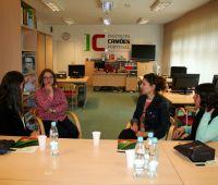 Wizyta stażystek z Escola Superior de Educação de Coimbra