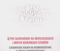 Nowa publikacja pracowników Instytutu Filologii Słowiańskiej