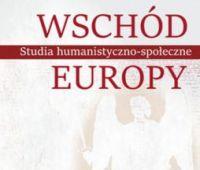 """Sukces czasopisma """"Wschód Europy. Studia..."""
