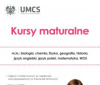 Kursy maturalne UMCS - ostatnie wolne miejsca!