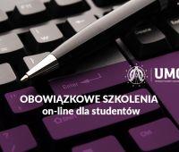 Obowiązkowe szkolenia on-line dla studentów