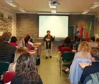 Visita na UMCS da Professora Doutora Anabela Dinis Branco...