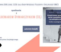 spotkanie z dr. Waldemarem Dymarczykiem