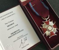Nasi pracownicy odznaczeni Krzyżem Zasługi