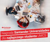 Nagroda Santander Universiades dla studentki Wydziału BiB!