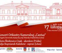 INVITATION TO CONCERTS of prof. Elwira Śliwkiewicz-Cisak...