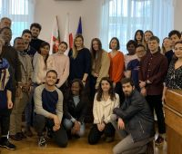 IR students in the Lublin City Hall