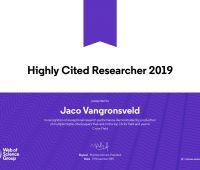 Prof. Jaco Vangronsveld w gronie najczęściej cytowanych...