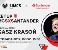 Znani i lubiani na UMCS - spotkanie z Łukaszem Krasoniem