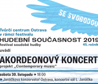 INVITATION TO CONCERT Contemporary Musik