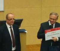 Prof. Marek Pietraś awarded