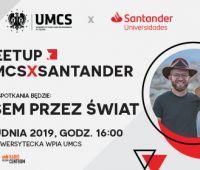 #Meetup_UMCSxSantander | Busem przez Świat