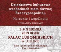 Dziedzictwo kulturowe - Sympozjum