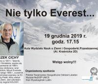 Spotkanie z Leszkiem Cichym - zaproszenie