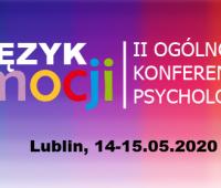 """II Ogólnopolska Konferencja Psychologiczna """"Język..."""