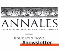 Newsletter Educatio Nova - numer 1 (english language)