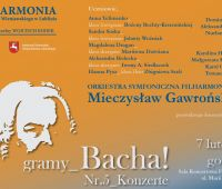 "INVITATION TO CONCERT ""Gramy Bacha"""