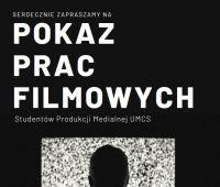 Pokaz prac filmowych Studentów PM