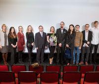 Projekcja prac filmowych studentów Produkcji medialnej