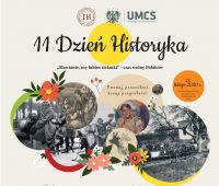 XI Dzień Historyka - program wydarzenia