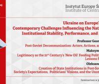 "Seminarium naukowe ""Ukraine  on  Europe's Frontier:..."