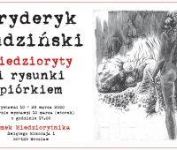 INVITATION TO EXHIBITION of Fryderyk Rudzinski