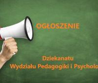 Studenci Wydziału Pedagogiki i Psychologii