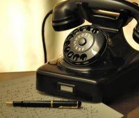 Konsultacje telefoniczne  z zaprzyjaźnionym psychiatrą...