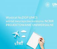 Wydział NoZiGP UMCS wśród zwycięzców konkursu NCBiR...