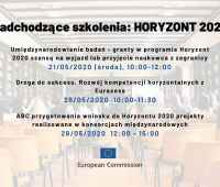 Aplikowanie w programie Horyzont 2020 - webinaria