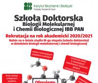 Rekrutacja do Szkoły Doktorskiej Biologii Molekularnej i...