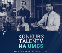 """Прийом заявок на конкурс """"Talenty na UMCS""""..."""