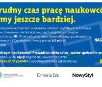 20. edycja Nagród Naukowych POLITYKI - zgłoszenia  do 14...