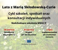 Lato z Marią Skłodowską-Curie: program Horyzont 2020