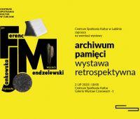 "INVITATION TO EXHIBITION ""Archiwum Pamięci"""