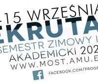 Program MOST - rekrutacja na rok akademicki 2020/21