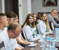 Lekkoatleci AZS UMCS w Rektoracie