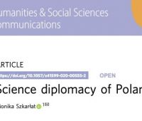 Science diplomacy of Poland, article by dr. Monika Szkarłat