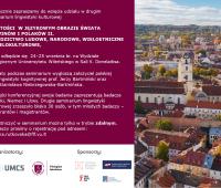 Zaproszenie na seminarium lingwistyki kulturowej