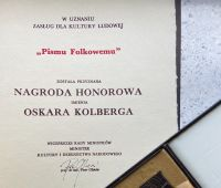 """Pismo Folkowe"" odebrało nagrodę Oskara Kolberga!"