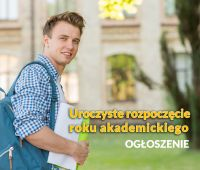 Uroczysta immatrykulacja (ślubowanie) studentów I roku