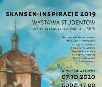 "INVITATION TO EXHIBITION ""Skansen- Inspiracje..."