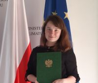 Doktorantka WPiD członkiem Młodzieżowej Rady Klimatycznej