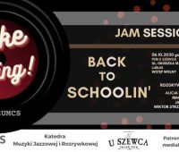 INVITATION TO CONCERT Back to Schoolin' // Jam...