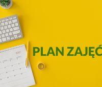 Studenci I roku - plan zajęć