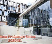 VISITING PROFESSORS SERIES winter semester 2020-21