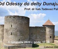 """""""Od Odessy do delty Dunaju""""-spotkanie PTG online"""