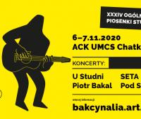 """Festiwal Piosenki Studenckiej i Turystycznej """"Bakcynalia"""""""