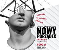 """Konkurs Artystyczny """"Nowy porządek"""" (do 15.11.2020)"""